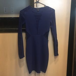 Express navy dress, size 2